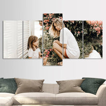 Personalized Painting 5pcs Contemporary Canvas Prints Wall Art