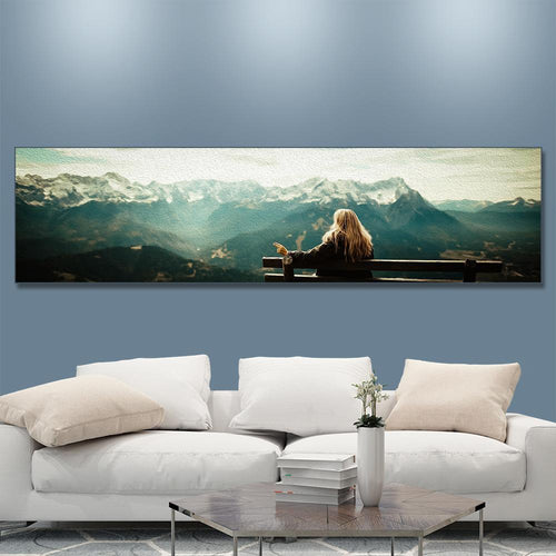 Custom Photo Canvas Prints Wall Art 135*35cm
