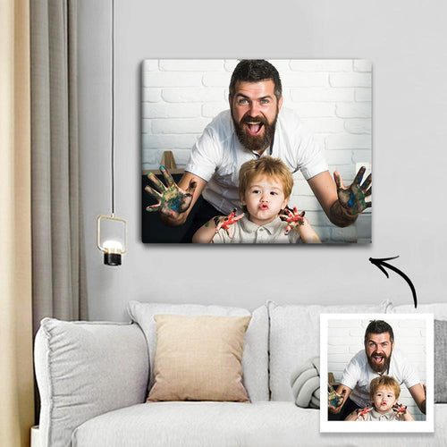 Custom Photo Canvas Prints With Frame
