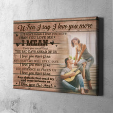 Custom Photo Wall Decor Painting Canvas Gift - For Couple