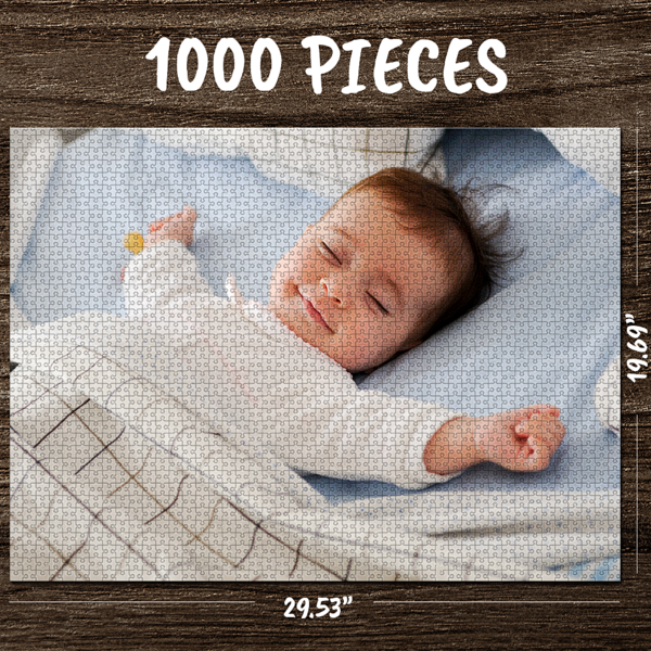 Custom Photo Jigsaw Puzzle Best  Gifts for Him or Her 35-1000 Pieces