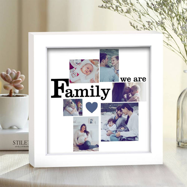 BEST GIFTS-Custom Creative Photo Frame 6 Pictures We are Family Family Gift