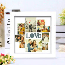 BEST GIFTS-Creative Custom Photo Frame 9 Pictures LOVE Picture Couple's Gift