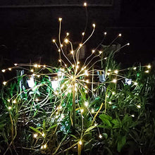 Load image into Gallery viewer, Solar powered LED fairy lights.