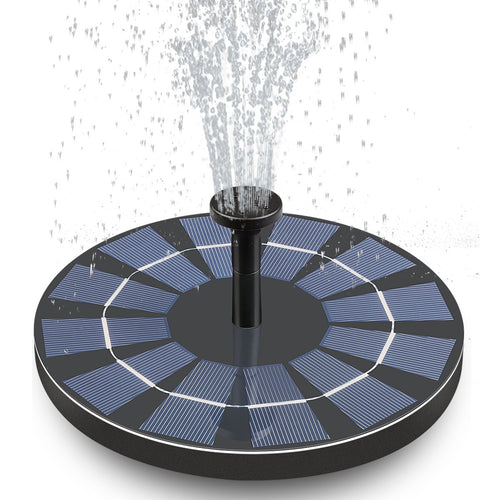 STELLAR™ Solar Powered Portable Fountain