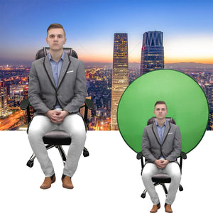 STREAMIT™ - Green Screen Chair drop