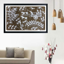 Load image into Gallery viewer, Warli Art 7x11 Inch VIllage WL016