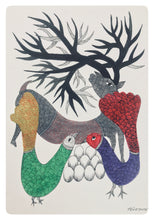 Load image into Gallery viewer, Gond Art Rain-Deer 15x11 Inch GD023