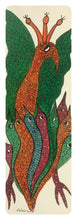 Load image into Gallery viewer, Gond Art 14x5 Inch Animals GD052