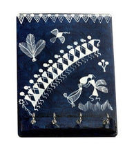 Load image into Gallery viewer, Warli Art Key Holder
