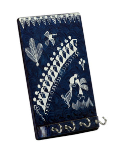 Warli Art Key Holder