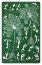 Load image into Gallery viewer, Warli Art 8x12 Inch WL018