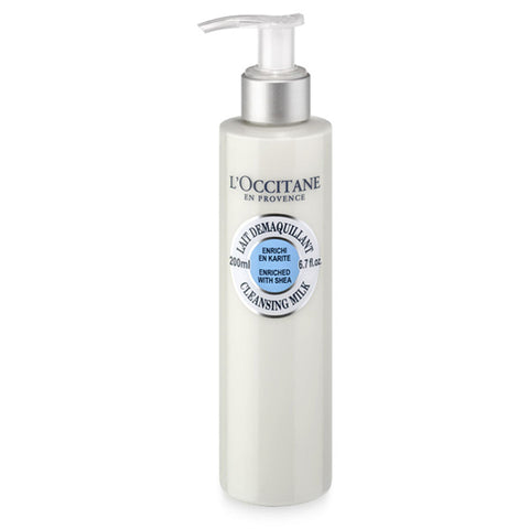 LOCCITANE SHEA SHEA CLEANSING MILK 200ML 200 ML