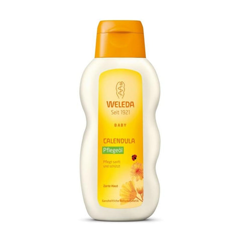 CALENDULA BABY OIL FRAGRANCE FREE 200 ML