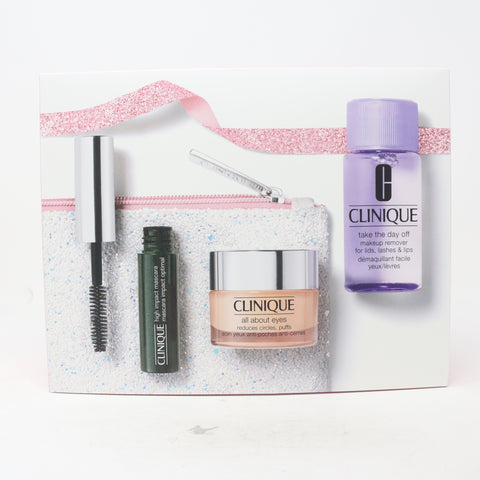 CLINIQUE ALL ABOUT EYES VALUE GIFT SET 2 PC