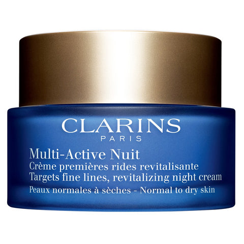 CLARINS  MULTI-ACTIVE NIGHT YOUTH RECOVERY COMFORT CREAM (NORMAL TO DRY SKIN) 50 ML