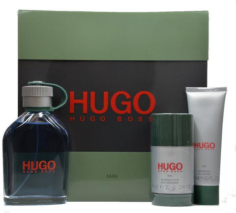 HUGO HUGO GREEN MEN HUGO BOSS MAN GIFT SET 1PCS (4424305410151)