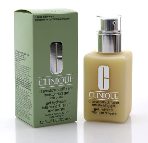 CLINIQUE DRAMATICALLY DIFFERENT MOISTURIZING GEL WITH PUMP (OILY SKIN) 125ML (4424294400103)