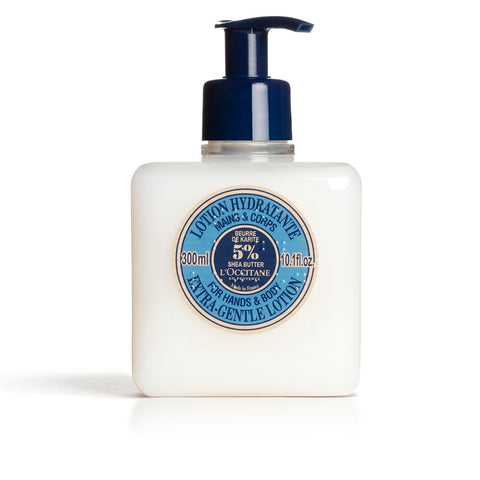 LOCCITANE  EXTRA-GENTLE LOTION FOR HANDS & BODY 300 ML