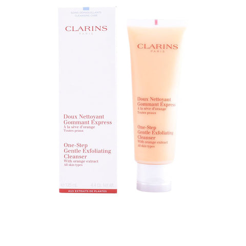 CLARINS  ONE-STEP GENTLE EXFOLIATING CLEANSER (ALL SKIN TYPES) 125 ML
