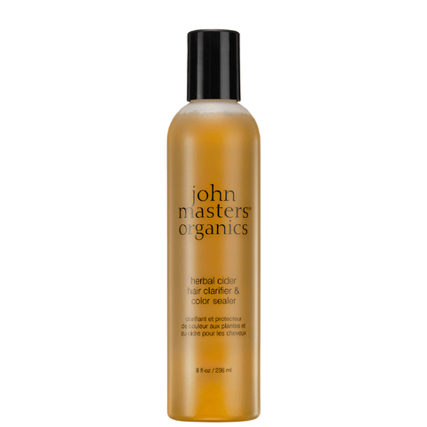 JOHN MASTERS ORGANICS CLEANSING HERBAL CIDER HAIR CLARIFIER & COLOR SEALER  236ML (4424307605607)