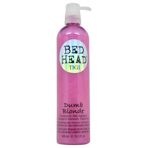 TIGI BED HEAD DUMB BLONDE SHAMPOO 13.5 OZ
