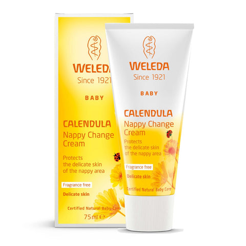 WELEDA - CALENDULA NAPPY CHANGE CREAM 75 ML (4497716576359)