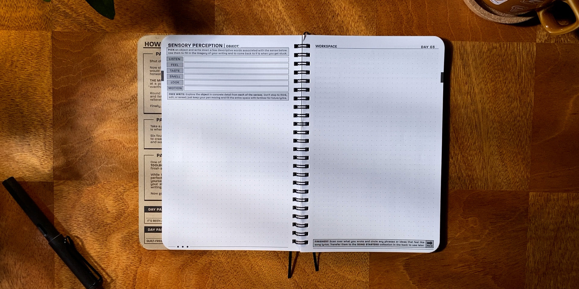 Practice Workbook open to the Figurative Exercise page