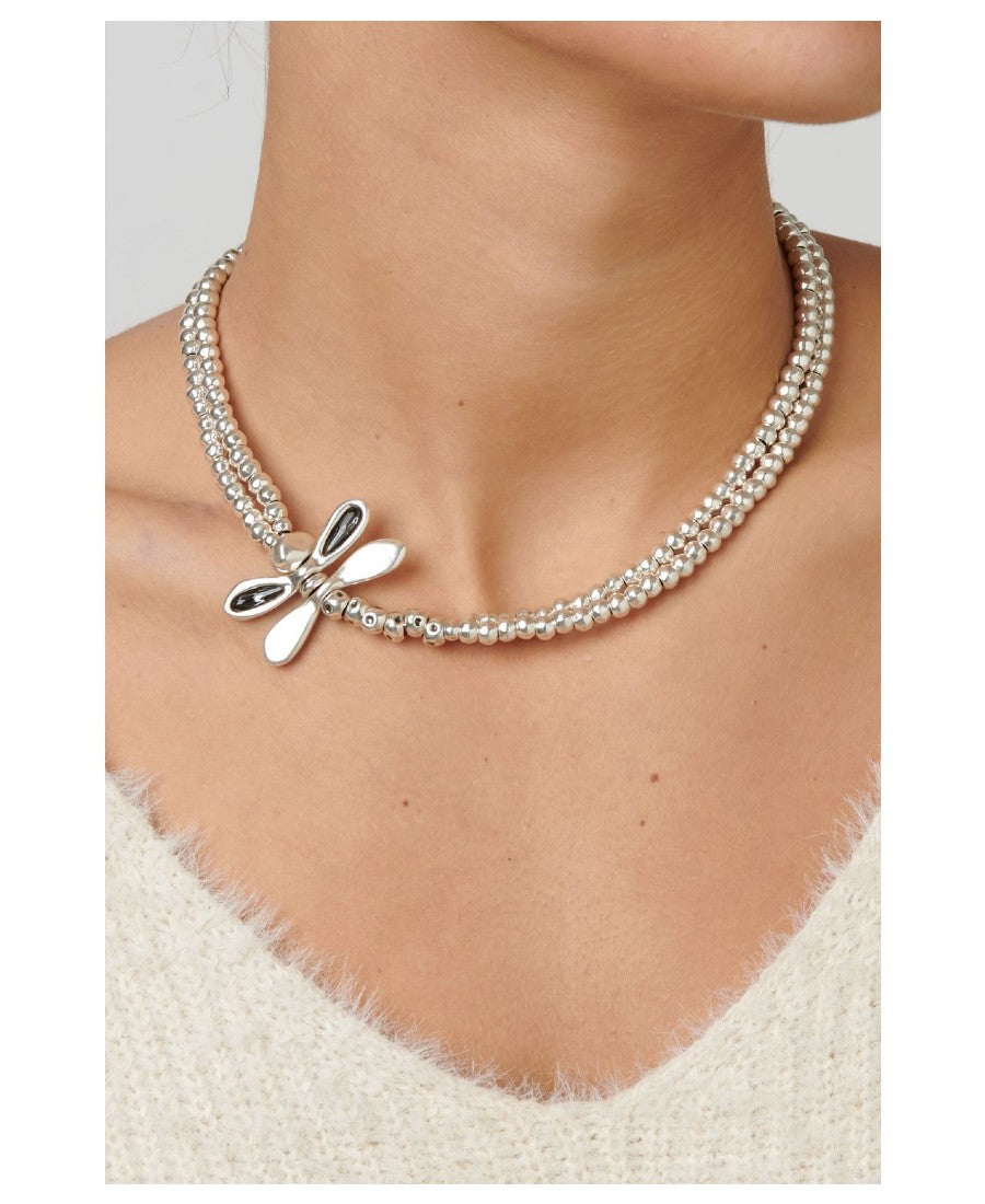UNOde50 Collana Little Dragon-Fly (4785904386128)