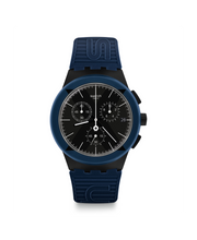 Swatch orologio cronografo uomo X-District Blue (5977706266817)