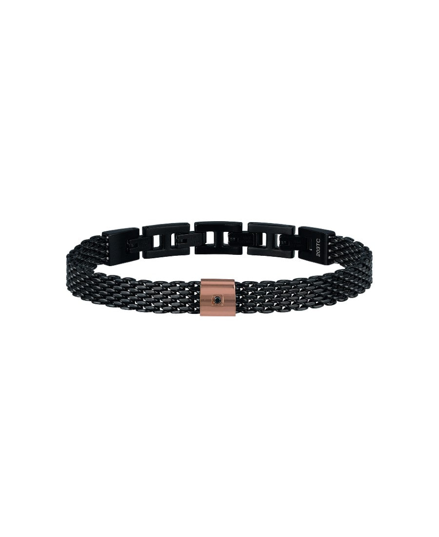 Breil Bracciale Black Diamond (6208118522049)