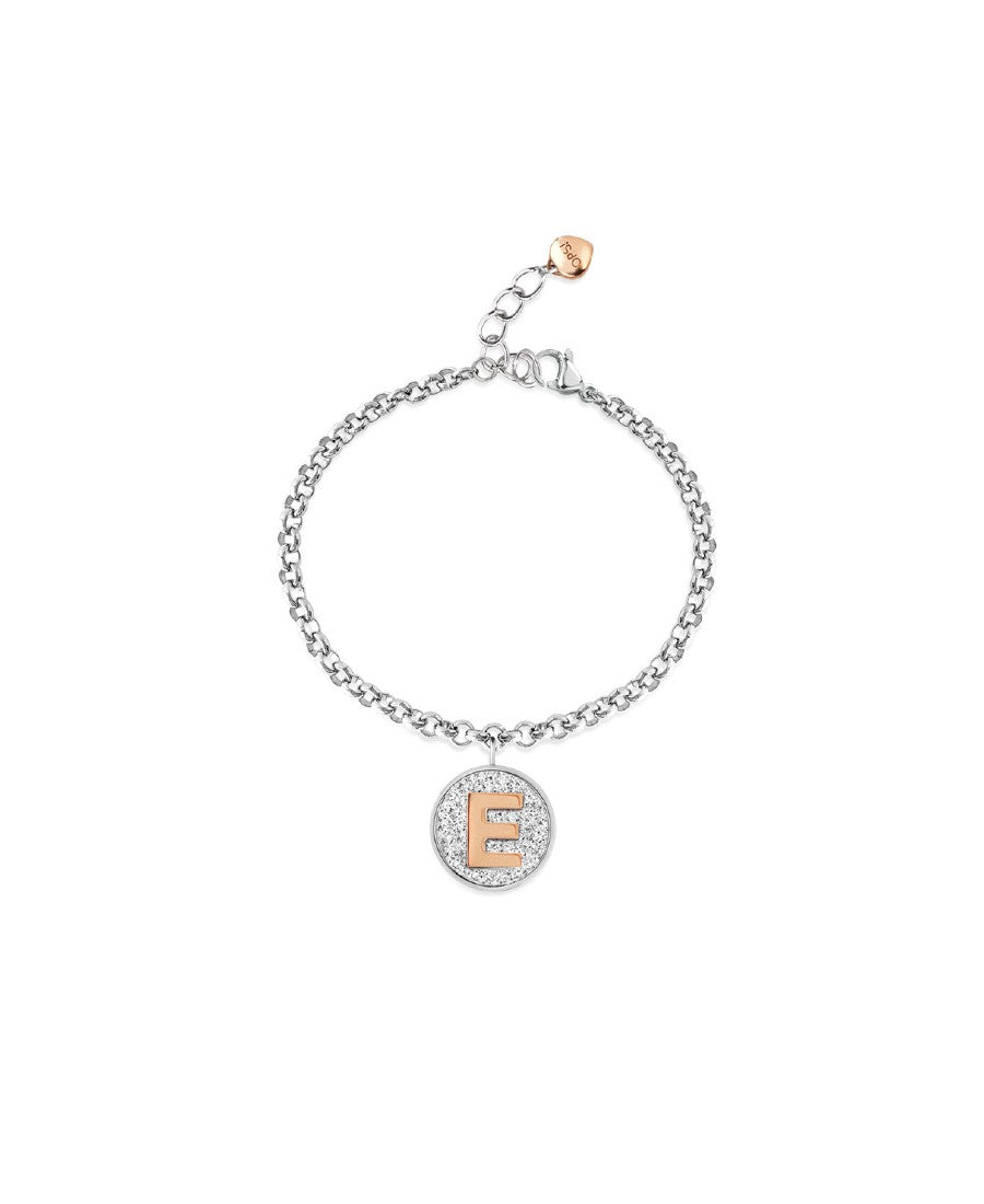 Ops Objects Bracciale Donna My Glitter Lettera E (6006766469313)