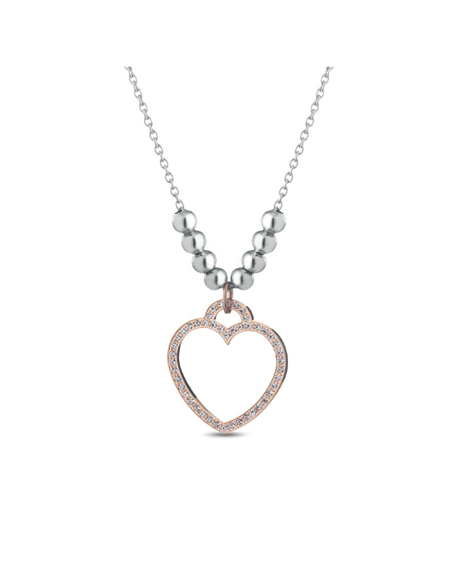 Ops Objects Collana Donna Cristal Vibes Pendente Cuore (6035964526785)