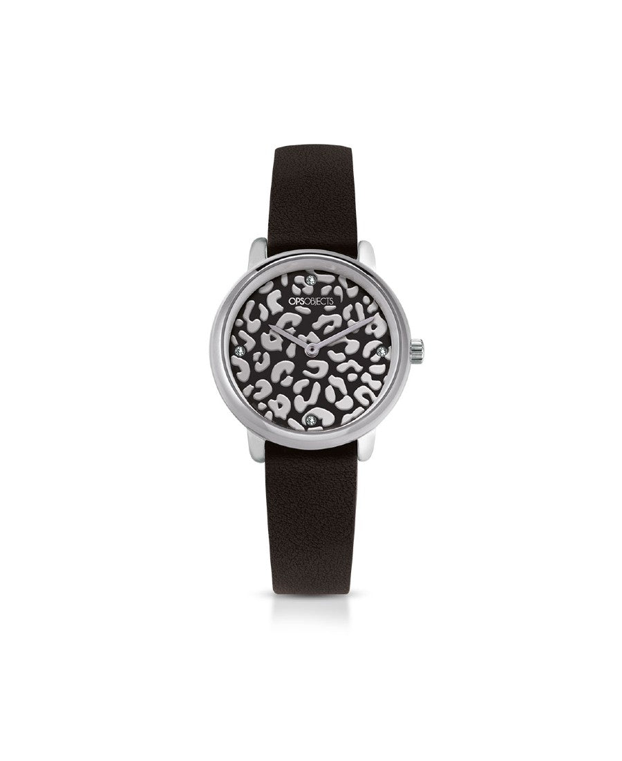 Ops Objects Orologio Donna Bold Animalier (6055210156225)