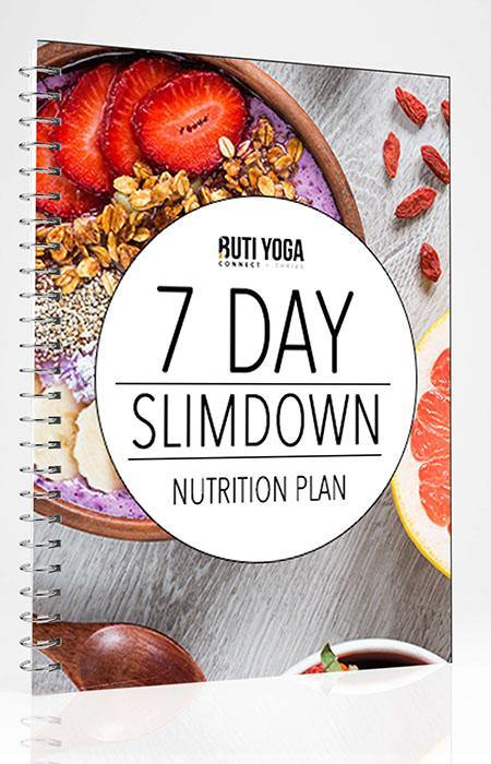 7-Day Slimdown Nutrition Plan