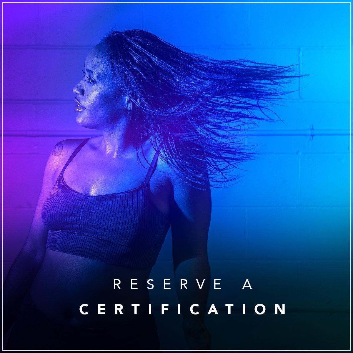 Reserve a Certification