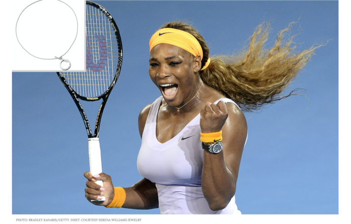 Serena Williams' New Jewelry Collection Inspired by 4 Consecutive Grand Slam Wins in 2015