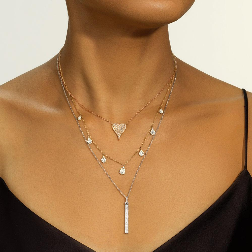 Pavé Bar Pendant - Serena Williams Jewelry