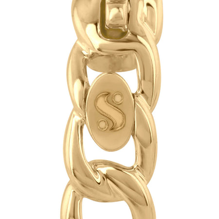 Large Link Hoops - Serena Williams Jewelry
