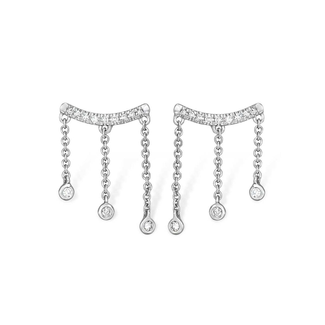 Diamond Droplet Earrings - Serena Williams Jewelry