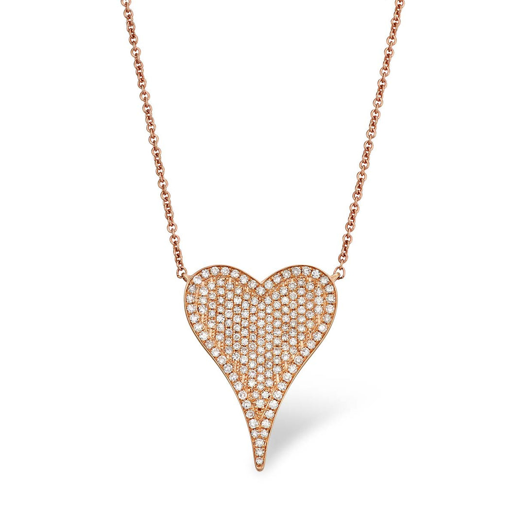Large Signature Heart Necklace - Serena Williams Jewelry