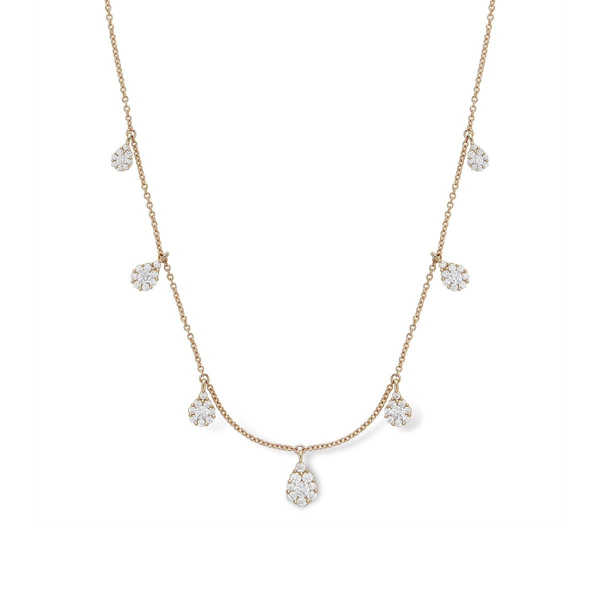 Diamond Droplet Necklace - Serena Williams Jewelry