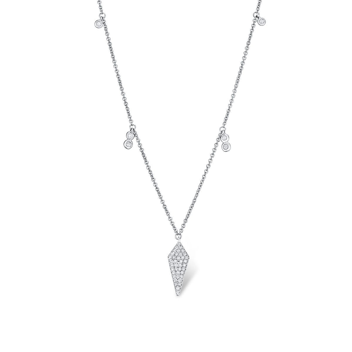 Dainty Dagger Necklace - Serena Williams Jewelry