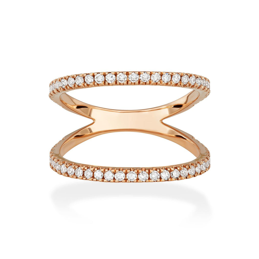 Open Pavé Band Ring - Serena Williams Jewelry