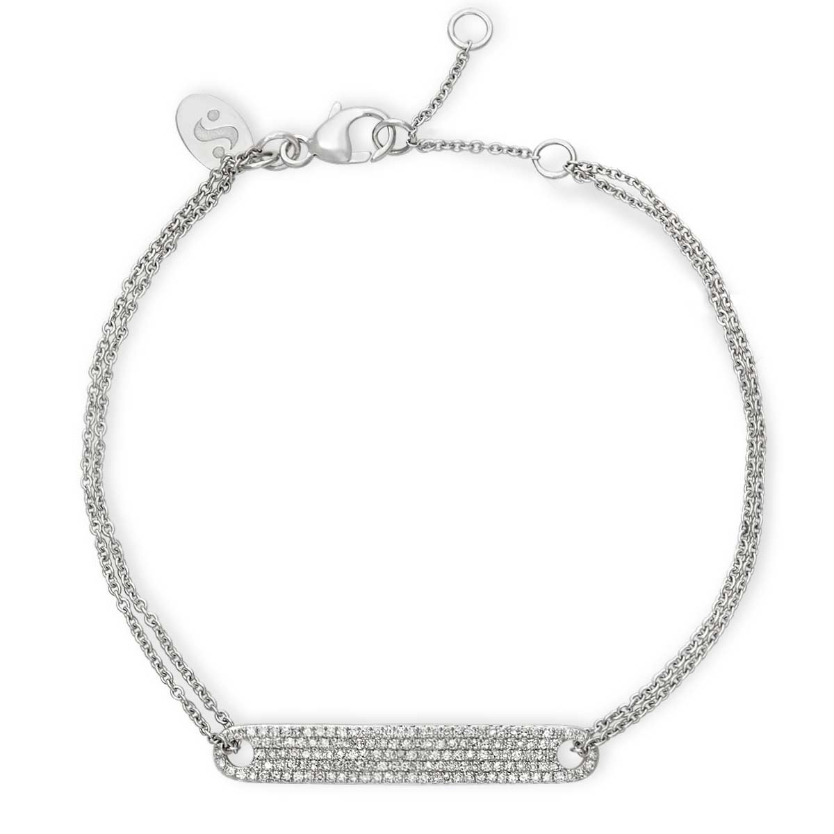 Pavé ID Bracelet - Serena Williams Jewelry
