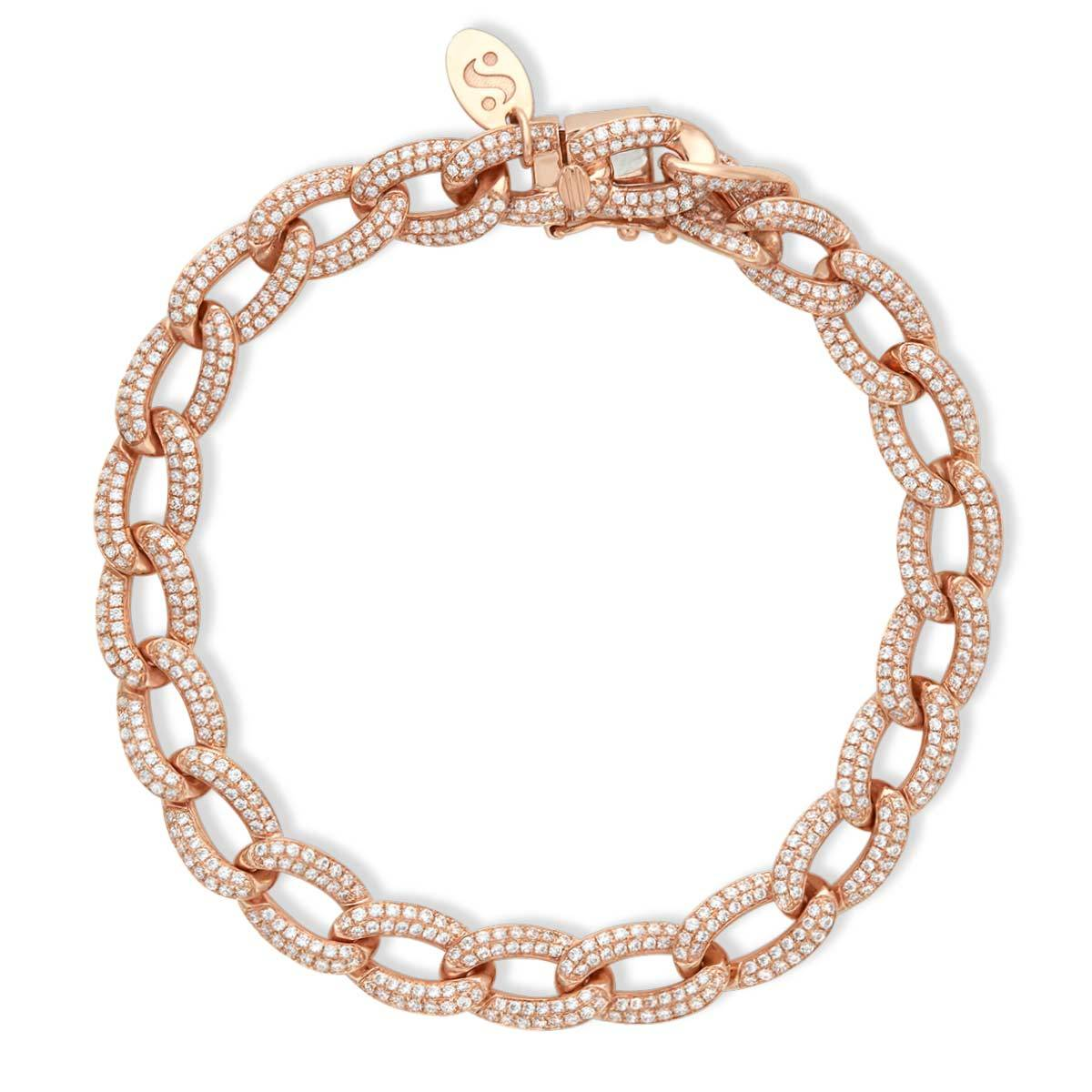 Oval Cuban Link Bracelet - Serena Williams Jewelry