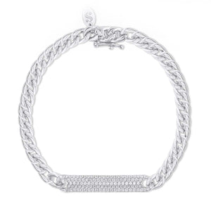 Medium Pavé ID Bracelet - Serena Williams Jewelry