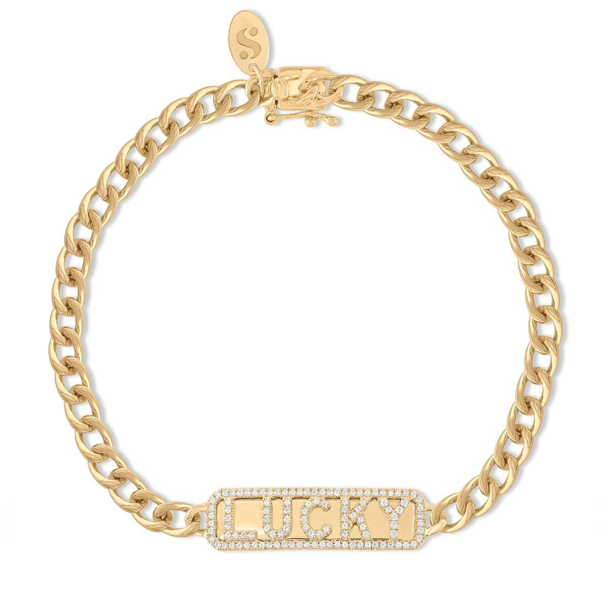 'Lucky' ID Bracelet - Serena Williams Jewelry