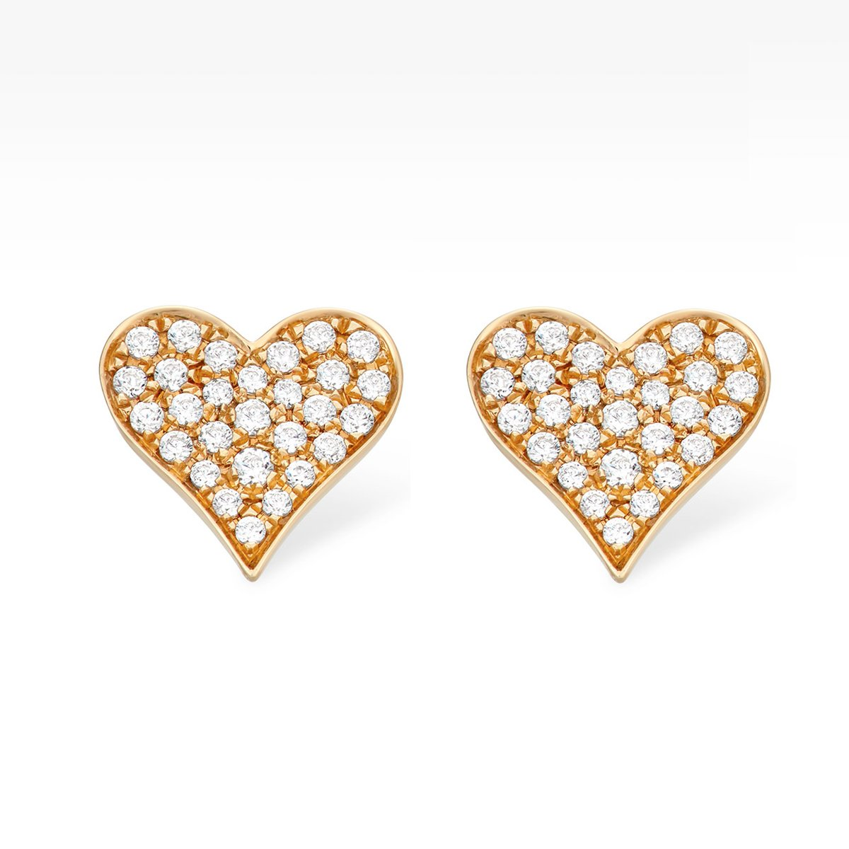 Heart Diamond Studs Earring