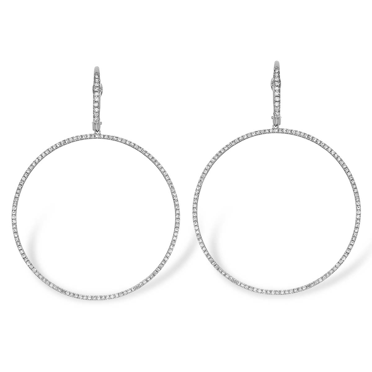 Front Facing Hoops - Serena Williams Jewelry
